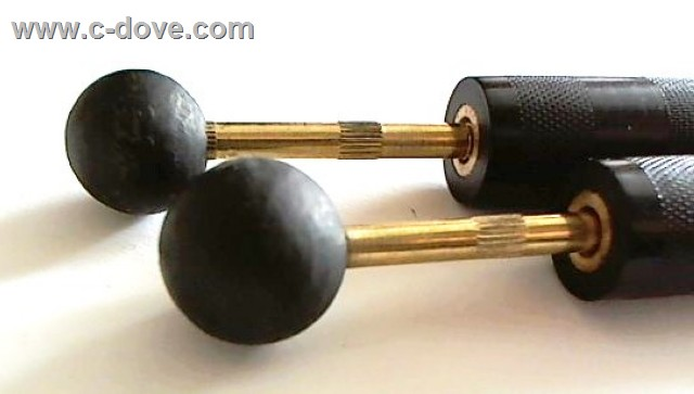 Schungite mini balls 16 mm with handles & wire